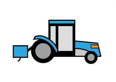 トラクターの運転に大型特殊免許が必要?ロータリー幅が1.7メートルを超えていたら無免許運転になるかも。【道路交通法】