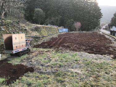 カスタム運搬車で堆肥を900キロ撒く!!